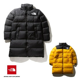 【XLサイズ対応】THE NORTH FACE Long Nuptse Coat NDW91951 ロングヌプシコート(レディース) ノースフェイス