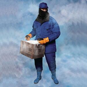 防寒着-60度対応冷凍倉庫用防寒コートBO8000【防寒対策用品/寒さ/サンエス/作業着】