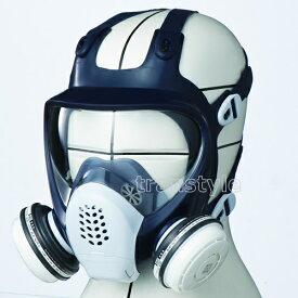 【送料無料】シゲマツ/重松 防毒マスク GM185-1 Mサイズ【ガスマスク/作業/工事】【RCP】