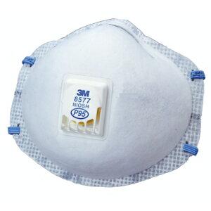 マスク 3M/スリーエム 使い捨て式防塵マスク 8577-DL2 (10枚入) 【防じん/作業/工事/医療用/粉塵】【RCP】