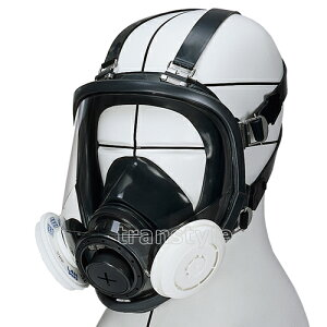 【送料無料】 シゲマツ/重松防じんマスク 取替え式防塵マスク DR165L4N-RL3 Mサイズ 【作業/工事/医療用/粉塵】【RCP】