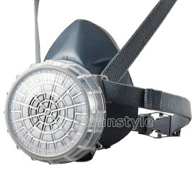 シゲマツ/重松 防毒マスク GM76DS Mサイズ 【ガスマスク/作業/工事】【RCP】