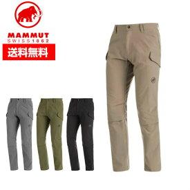 MAMMUT マムート メンズ ハイキングパンツ Transporter Cargo 3/4 2 in 1 Pants AF Men ロングパンツ 撥水性 1022-01110 ■登山 トレッキング ストレッチ 定番 アウトドア