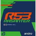 ★即納/あす楽★■卓球ラバーメール便送料無料■【andro】アンドロ 112292 ラザンター R53 エナジー・セル降臨 ! 衝…
