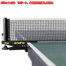 【andro】アンドロ 232236 ネット (※画像のサポートは付属しません)【卓球用品】フェンス/卓球ネット/卓球用ネット【RCP】