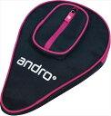 ★即納/あす楽★【andro】アンドロ 412022 ラケットケース ベーシックSPケースII [ネイビー×ピンク]【卓球用品】卓球…