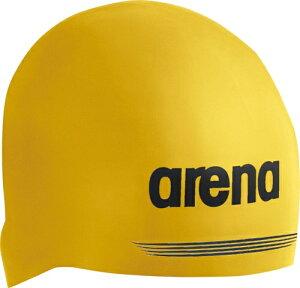 【ARENA】アリーナ ARN7400-YEL 【男女兼用 スイムキャップ】 シリコンキャップ [イエロー] 【水泳/競泳/帽子/水泳キャップ/スイミングキャップ/水泳帽】 【RCP】