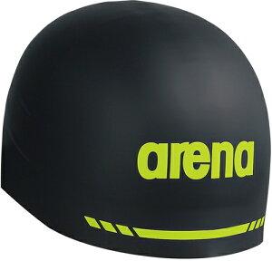 【ARENA】アリーナ ARN9400-BLK シリコンキャップ(AQUAFORCE 3D SOFT) [ブラック] 【水泳/競泳/帽子/水泳キャップ/スイミングキャップ/水泳帽】 【RCP】