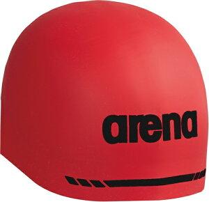 【ARENA】アリーナ ARN9400-RED シリコンキャップ(AQUAFORCE 3D SOFT) [レッド] 【水泳/競泳/帽子/水泳キャップ/スイミングキャップ/水泳帽】 【RCP】