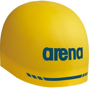 【ARENA】アリーナ ARN9400-YEL シリコンキャップ(AQUAFORCE 3D SOFT) [イエロー] 【水泳/競泳/帽子/水泳キャップ/スイミングキャップ/水泳帽】 【RCP】