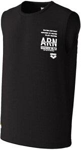 【ARENA】アリーナ ASN0436-BLK T-body SL ASN-0436 [ブラック] 【水泳/スイム/ラッシュガード/ノースリーブ/タンクトップ/袖なし/水陸両用】 【RCP】