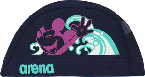 【ARENA】アリーナ DIS0358-NVY メッシュキャップ[ネイビー(NVY)] [スイミングキャップ/帽子/水泳帽/練習/プラクティス/水泳/水球/競泳/部活動/クラブ活動/ディズニーシリーズ]【RCP】