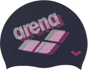 【ARENA】アリーナ FAR0902-NVY シリコンキャップ[ネイビー(NVY)] [スイミングキャップ/帽子/水泳帽/練習/プラクティス/水泳/水球/競泳/部活動/クラブ活動]【RCP】