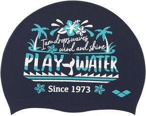 【ARENA】アリーナ FAR0904-NVY シリコンキャップ[ネイビー(NVY)] [スイミングキャップ/帽子/水泳帽/練習/プラクティス/水泳/水球/競泳/部活動/クラブ活動]【RCP】