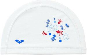 【ARENA】アリーナ FAR0909-WHT 2WAYシリコンキャップ[ホワイト(WHT)] [スイミングキャップ/帽子/水泳帽/練習/プラクティス/水泳/水球/競泳/部活動/クラブ活動]【RCP】