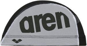 【ARENA】アリーナ FAR0912-BLWH メッシュキャップ[ブラック/ホワイト(BLWH)] [スイミングキャップ/帽子/水泳帽/練習/プラクティス/水泳/水球/競泳/部活動/クラブ活動]【RCP】