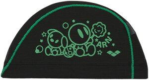 【ARENA】アリーナ FAR0914-GBK メッシュキャップ[グリーン/ブラック(GBK)] [スイミングキャップ/帽子/水泳帽/練習/プラクティス/水泳/水球/競泳/部活動/クラブ活動]【RCP】