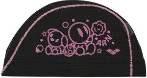 【ARENA】アリーナ FAR0914-PBK メッシュキャップ[ピンク/ブラック(PBK)] [スイミングキャップ/帽子/水泳帽/練習/プラクティス/水泳/水球/競泳/部活動/クラブ活動]【RCP】