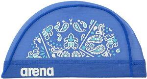 【ARENA】アリーナ FAR0918-BLU メッシュキャップ[ブルー(BLU)] [スイミングキャップ/帽子/水泳帽/練習/プラクティス/水泳/水球/競泳/部活動/クラブ活動]【RCP】