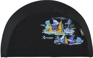 【ARENA】アリーナ FAR0922-BLK テキスタイルキャップ[ブラック(BLK)] [スイミングキャップ/帽子/水泳帽/練習/プラクティス/水泳/水球/競泳/部活動/クラブ活動]【RCP】