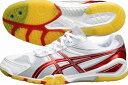 【asics】アシックス卓球シューズ TPA329-0123 アタック BLADELYTE 3(アタック ブレードライト 3)(ホワイト×レッド) [シリーズ:...