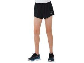 【asics】アシックス 2094A002-001 JR.ランニングパンツ [ブラック] 【マラソン/ジョギング/陸上/スポーツウェア/ウエア/半ズボン/ハーフパンツ/ショートパンツ/ジュニア/子供用】 【RCP】[hz]