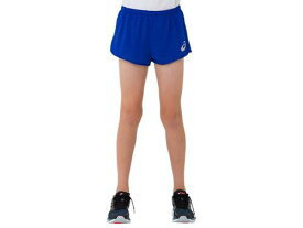 【asics】アシックス 2094A002-401 JR.ランニングパンツ [ブルー] 【マラソン/ジョギング/陸上/スポーツウェア/ウエア/半ズボン/ハーフパンツ/ショートパンツ/ジュニア/子供用】 【RCP】[hz]