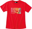 【Butterfly】バタフライ 45170-006 ジョレノ・Tシャツ [レッド]【卓球用品】トレーニングシャツ/卓球ユニフォーム/卓球/ユニホーム【RCP】