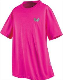 【Butterfly】バタフライ 45230-016 卓球Tシャツ ウィンロゴ・Tシャツ [ロゼ] 【卓球用品】トレーニングシャツ/卓球ユニフォーム/卓球/ユニホーム【RCP】