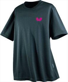 【Butterfly】バタフライ 45230-277 卓球Tシャツ ウィンロゴ・Tシャツ [チャコール] 【卓球用品】トレーニングシャツ/卓球ユニフォーム/卓球/ユニホーム【RCP】