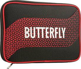 ★即納/あす楽★【Butterfly】バタフライ 62800-006 ラケットケース メロワ・ケース [レッド]【卓球用品】卓球用ケース/ラケットケース/バッグ 【RCP】