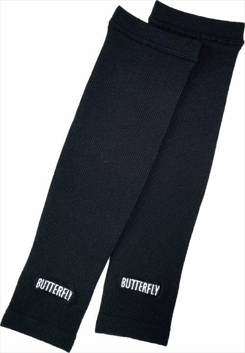 【Butterfly】バタフライ 76340-270 ロゴ・アームウォーマー [ホワイト] 【卓球用品】卓球用タオル/バンド類【RCP】