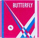 【Butterfly】バタフライ 76400-016 ネオラリー・ハンドタオル [ロゼ]【卓球用品】卓球用タオル/バンド類【RCP】