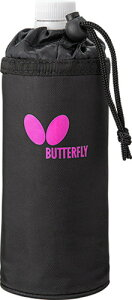 【Butterfly】バタフライ 76650-018 CL・BOTTLE HOLDER CL・ボトルホルダー [パールピンク] 【卓球用品】卓球用バッグ/ケース※小型宅配便発送不可 【RCP】