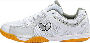 【Butterfly】バタフライ93640-270レゾラインサル[ホワイト]【卓球用品】シューズ/靴/卓球/卓球シューズ【RCP】