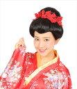 ◆【カツランド 日本髪】本格的な日本髪風かつら!かんざしもセットになっているから、付けたり外したりして、色んな…