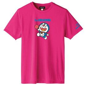 ◆DONIC◆ドニック YL111-FB DONIC I'M DORAEMON 卓球Tシャツ B(男女兼用) [ピンク]ドラえもんTシャツ/どらえもん/ドラエモン【卓球用品】Tシャツ/卓球Tシャツ/卓球【RCP】