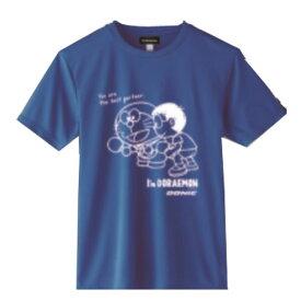 ◆DONIC◆ドニック YL127-CA DONIC I'M DORAEMON 卓球Tシャツ C(男女兼用) [ブルー]ドラえもんTシャツ/どらえもん/ドラエモン【卓球用品】Tシャツ/卓球Tシャツ/卓球【RCP】