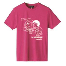 ◆DONIC◆ドニック YL127-FB DONIC I'M DORAEMON 卓球Tシャツ C(男女兼用) [ピンク]ドラえもんTシャツ/どらえもん/ドラエモン【卓球用品】Tシャツ/卓球Tシャツ/卓球【RCP】