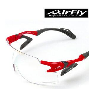 ■送料無料■【ZYGOSPEC】ジゴスペック AF-301-C-6BK AirFly エアフライ(調光レンズ)[フレーム:レッド][レンズ:調光ブルーミラー] [サングラス/自転車/競技/エアーフライ/ノーズパッドなし/UV/ランニ