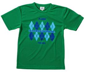 ※受注生産[納期目安:約1ヶ月]※キャンセル不可【JUIC】ジュウィック 5498GR アーガイルT [グリーン] (卓球Tシャツ/ゲームシャツ)(※他のカラーは別ページで販売中)【卓球用品】ウェア/卓球ユニフォーム/卓球/ユニホーム【RCP】