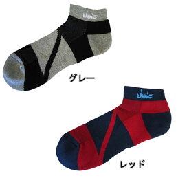 【JUIC】ジュウィック 6236 バンデージソックス 25〜27cm[レッド][グレー] 【卓球用品】ソックス/靴下/卓球/ユニホーム/ユニフォーム/卓球ユニフォーム/ジュイック【RCP】