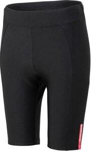 ■送料無料■【le coq sportif】ルコック QCWNGD01-BLK レディース ショートパンツ [ブラック] 【サイクリングアンダーウェア/サイクリング半ズボン/女性用】 【RCP】