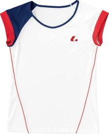 ■送料無料■【LUCENT】ルーセント XLH2280 レディース ゲームシャツ(襟なし) ホワイト [ホワイト] 【テニス/ゲームシャツ】 年度:19SS 【RCP】