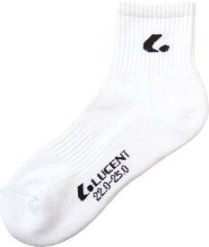 【LUCENT】ルーセント XLN2869 レディース ソックス XLN2869 [ブラック] 【テニス/ソックス】 年度:19SS 【RCP】