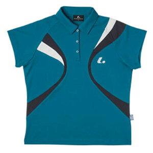 【LUCENT】ルーセントXLP4695LADIESゲームシャツ(エメラルド)[テニス/ゲームシャツ]年度:15SS【RCP】