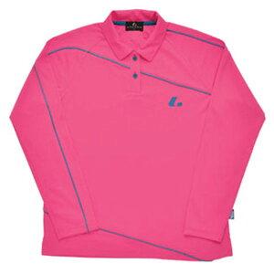 【LUCENT】ルーセントXLP4701LADIES長袖ポロシャツ(ピンク)[テニス/ゲームシャツ]年度:15SS【RCP】