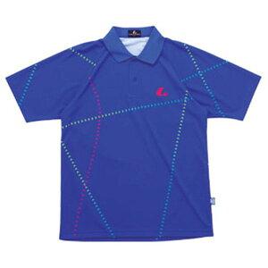 【LUCENT】ルーセントXLP7987PUNIゲームシャツ(ウルトラマリン)[卓球/ゲームシャツ]年度:15SS【RCP】