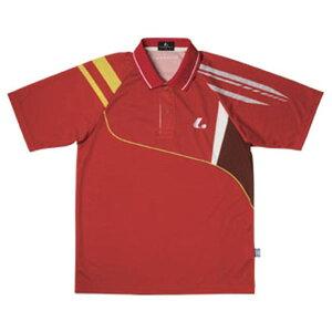 【LUCENT】ルーセントXLP8111UNIゲームシャツ(レッド)[テニス/ゲームシャツ]年度:15SS【RCP】