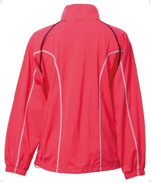 【LUCENT】ルーセントXLW6191Ladiesウォームアップシャツ[ピンク][テニス/トレーニングウェア]年度:14FW【RCP】